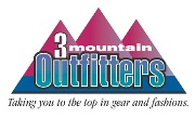 3 Mountain Outfitters Logo