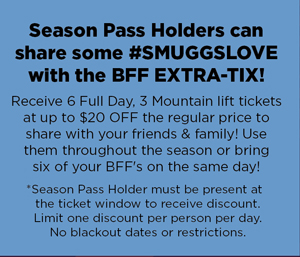 BFF Extra Ticket Information