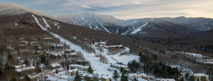 Aerial View of Smugglers' Notch