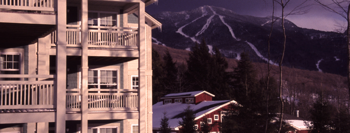 View of mountain from condominium