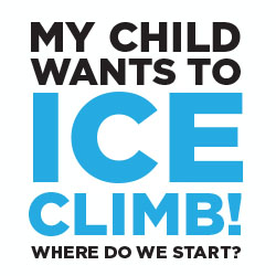 Click to learn about ice climbing